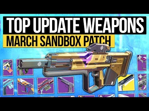 Destiny 2 | The TOP 20 Weapons You Should Try on March 27th! (PvP / PvE Weapon Buffs)
