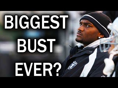 What Happened to JaMarcus Russell? Biggest NFL Draft Bust Ever? (2017)