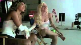 Lady gaga ft beyonce - Telephone Backstage