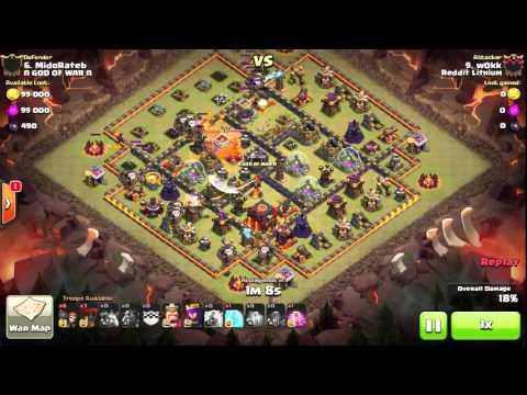 Clash Of Clans - Reddit Lithium Vs God Of War - War Recap