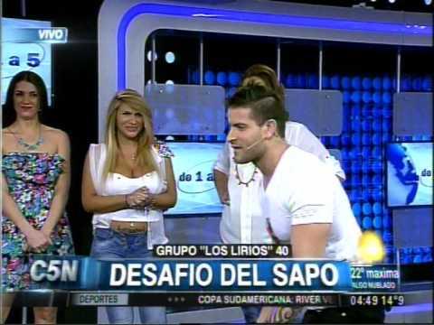 C5N - DE 1 A 5: EL DESAFIO DEL SAPO 18/09/2014