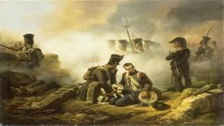 """Собаки в армии Наполеона. Пёс герой """"Мусташ""""."""
