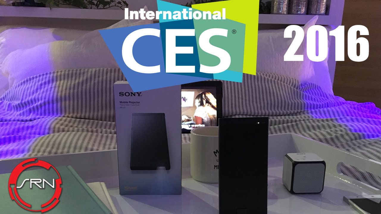 Sony Wireless MP-CL1 Laser Projector Preview | CES 2016