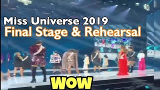 FINAL REHEARSAL STAGE MISS UNIVERSE 2019   Gazini Look