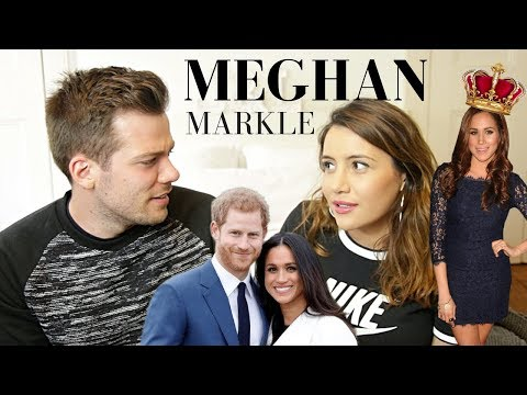 What Do British People Think About Meghan Markle? 🇬🇧🇺🇸American joins British Royal Family