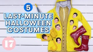 5 Genius Last-Minute Halloween Costumes | Style Lab