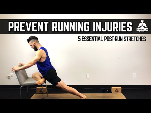 The 5 Best Stretches for Runners | Post-Run Stretches to Prevent Injuries | Yoga for Runners