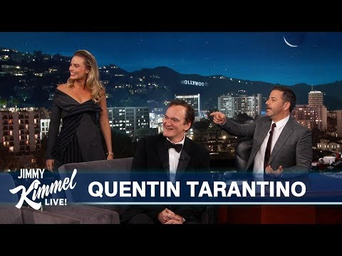 Quentin Tarantino on New Movie with Leonardo DiCaprio, Brad