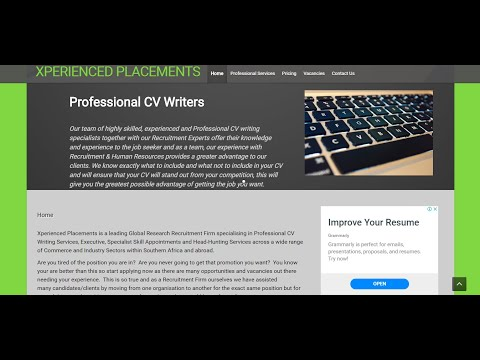 How to Create An Easy Professional CV On Microsoft Word - CV Design Part 1 | Xperienced Placements