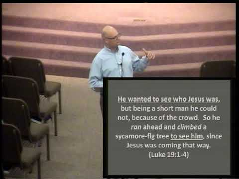 Helping People See Jesus - Tim Lewis  August 23, 2017