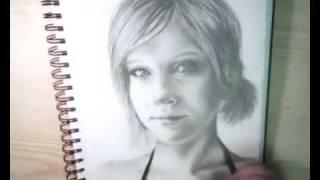 Drawing Ria (aka sviiik)