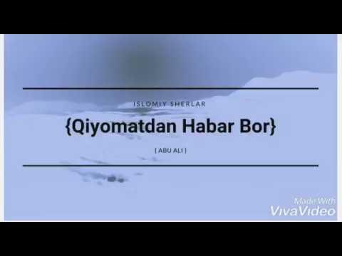 Qiyomatdan Habarlar Bor || ( Abu Ali ) N2