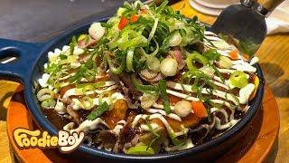 서울 노량진 오코노미스토리 / 차돌박이 마늘 오코노미야끼(Beef Brisket Okonomiyaki with Garlic) / Noryangjin-Dong, Seoul Korea