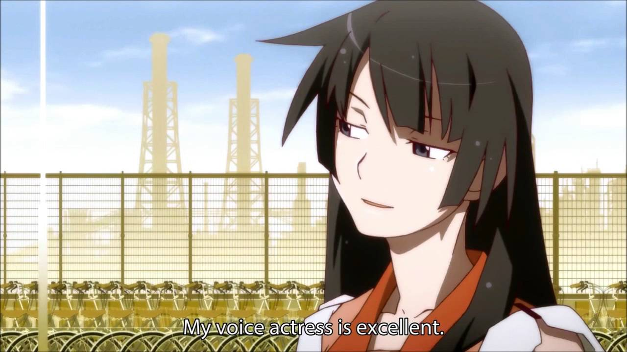 Image result for senjogahara my voice actress