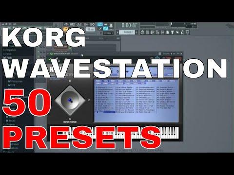 KORG WAVESTATION Vst  50 Presets ( Beautiful Sounds )