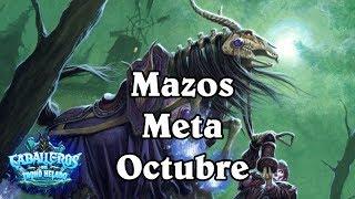 MAZOS META OCTUBRE [Hearthstone]