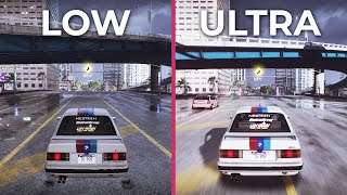 Need for Speed Heat – LOW vs. ULTRA PC Graphics Comparison