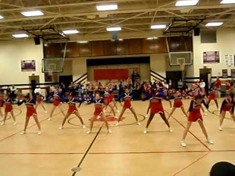 Crosby CheerLeaders 2009  YouTube