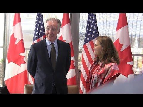 Democrat Richard Neal visits Ottawa