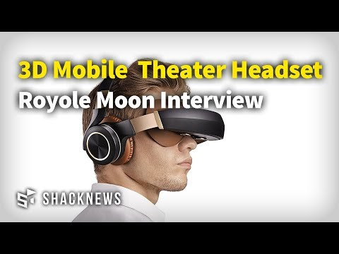 Royole Moon 3D Mobile Theater Headset