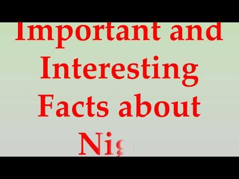Important and Interesting Facts about Niger