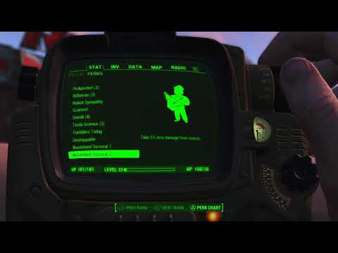 Fallout 4 DRMT#469 status level 33 and 3 star ninja