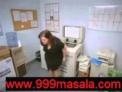 Photocopy machine upskirt