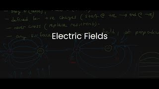 SPH4U/Grade 12 Physics: 7.3 Electric Fields