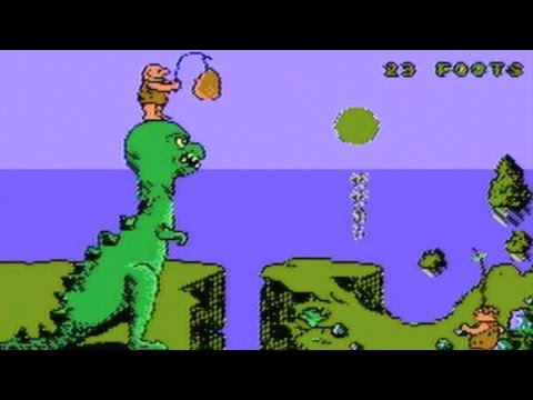 CGR Undertow - CAVEMAN GAMES review for NES
