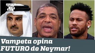 Será? OLHA o que Vampeta acha que o PSG fará com Neymar!