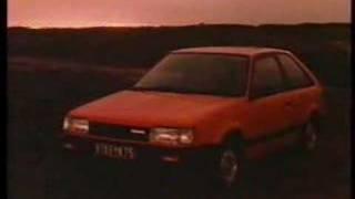 1985 Mazda Familia Ad