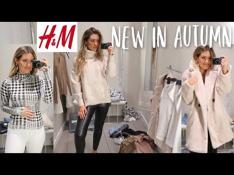 NEW IN H&M | COME SHOPPING WITH ME | AUTUMN FALL HAUL