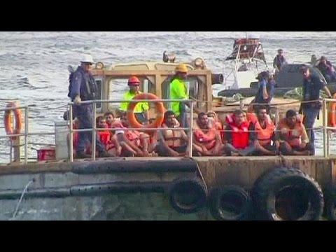Sri Lanka asylum seekers arrive in Australia