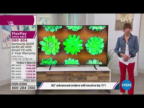 "Samsung Q60R 49"" QLED 4K UHD Smart TV with 2Year Warrant..."