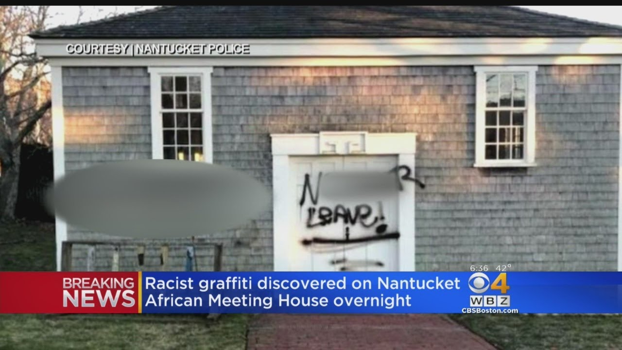 'N----- Leave' Spray Painted On Historic African-American Building