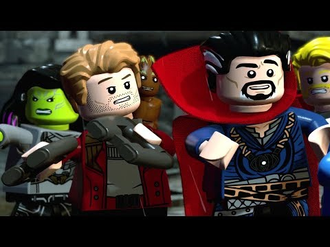 LEGO Marvel Super Heroes 2 - 100% Guide #3 - Castle Hassle (All Minikits)