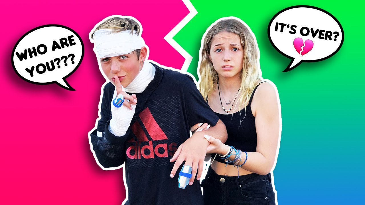 I LOST MY MEMORY PRANK ON GIRLFRIEND **Gone Too Far*💔💔| Walker Bryant