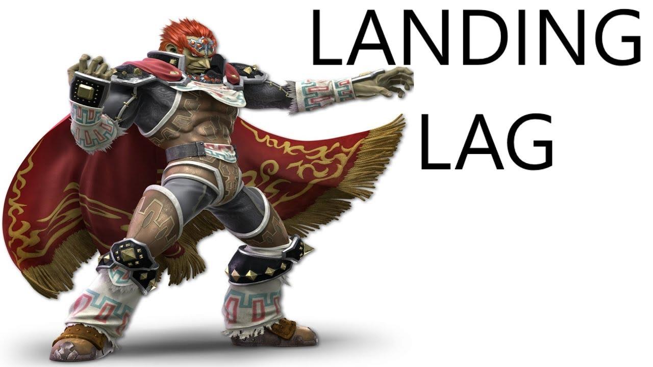 Super Smash Bros Ultimate Ganondorf Landing Lag Frame Data - YouTube