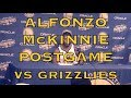 Entire ALFONZO McKINNIE postgame: feeling of hitting a 3 in front of Oracle, not surprised