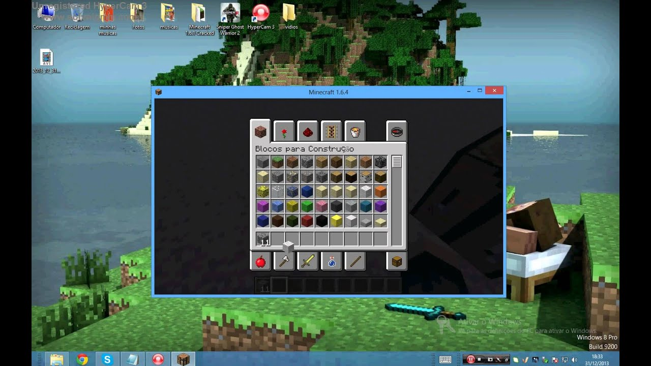 Como Fazer Um Fogao Uma Cama Minecraft