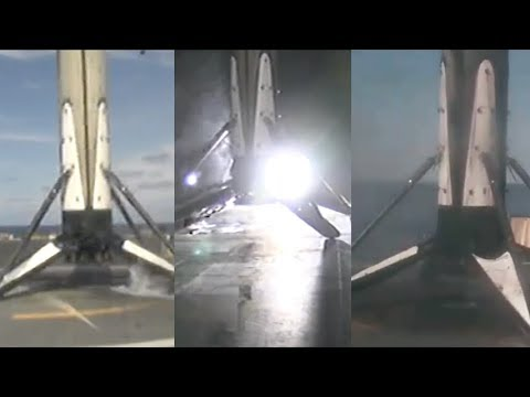 Falcon 9 landed three times!