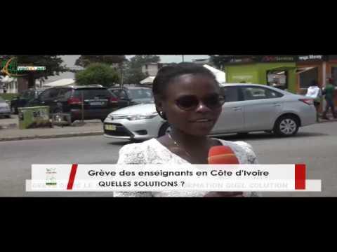 Côte d'Ivoire : Les ivoiriens se prononcent sur la grève des enseignants