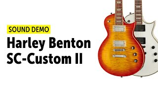 Harley Benton SC-Custom II - Sound Demo (no talking)