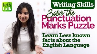 All Punctuation Marks | English Grammar class to improve writing skills | English Language Facts