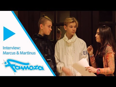 Famoza interview: Marcus & Martinus