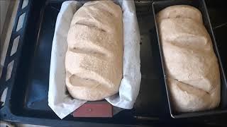 Цельнозерновой хлеб из муки грубого помола Как в русских печах Супер рецепт