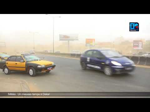 Météo : Un mauvais temps à Dakar