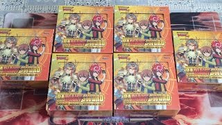 Cardfight Vanguard Glorious Bravery Of The Radiant Sword Box Opening