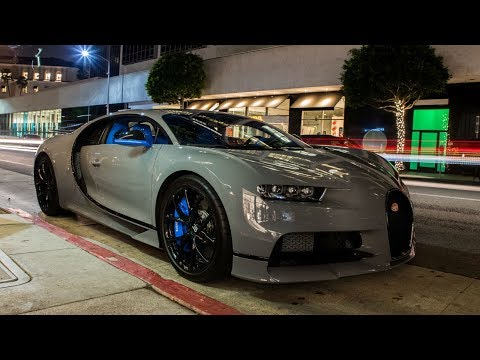 The King of Qatar SHUTS DOWN BEVERLY HILLS With His $4,000,000 BUGATTI CHIRON!!!