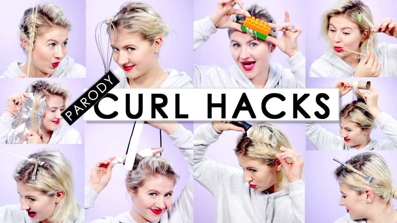 10 Curl Hair Hacks Every Girl Should Know Parody